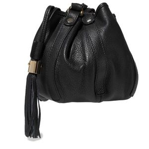 See by CHLOE Vicki Textured- leather bucket bag